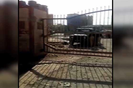 کوئٹہ کے علاقے ہزار گنجی میں دھماکا، 2 افراد زخمی