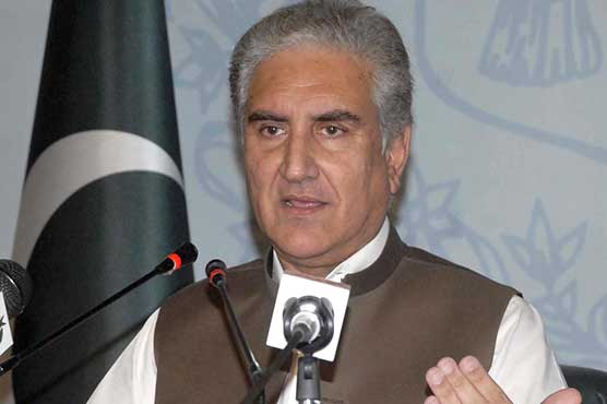 FM Qureshi thanks Kashmiris for supporting PM's ideology in polls