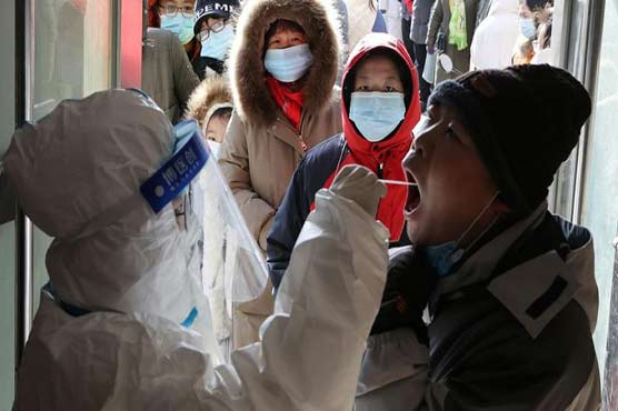 China reports 76 virus cases, highest daily rise since January