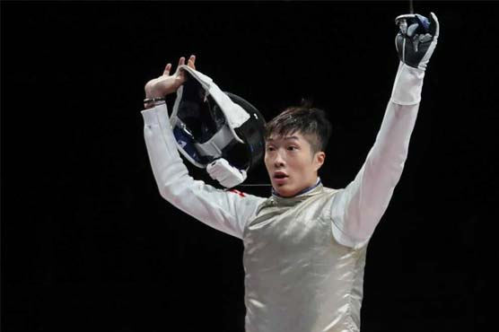 Olympic fencing champ says Hong Kong 'insane' after first gold for 25 years