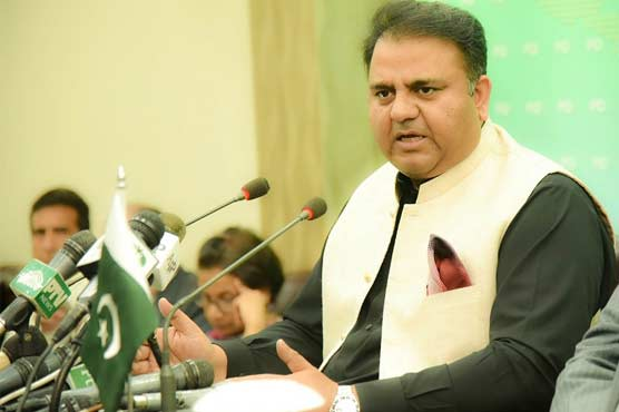 PML-N should accept defeat in AJK elections: Fawad Ch