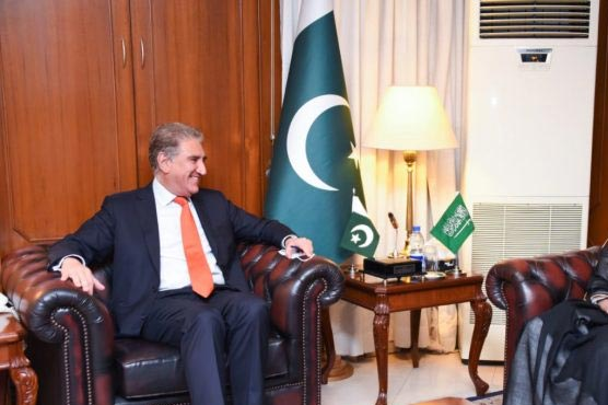 FM Qureshi thanks Kingdom for its steadfast support for Kashmir cause