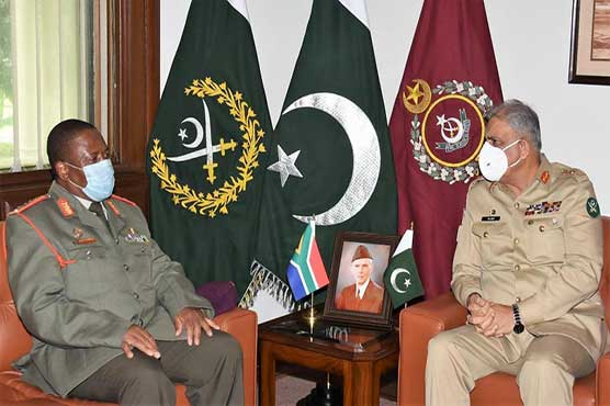 Pakistan attaches great value to its relations with South Africa: COAS
