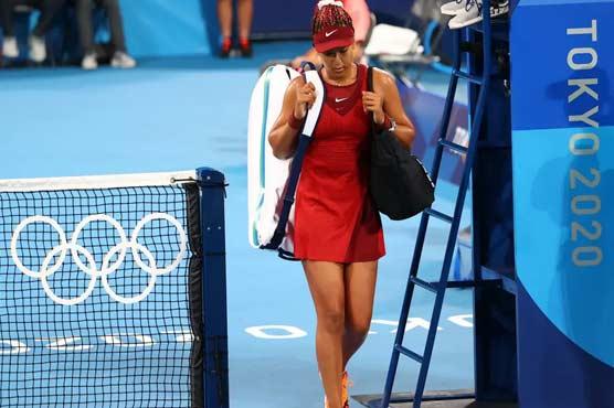 ٹوکیو اولمپکس: جاپان کی ٹینس سٹار ناؤمی اوساکا کو اپ سیٹ شکست کا سامنا
