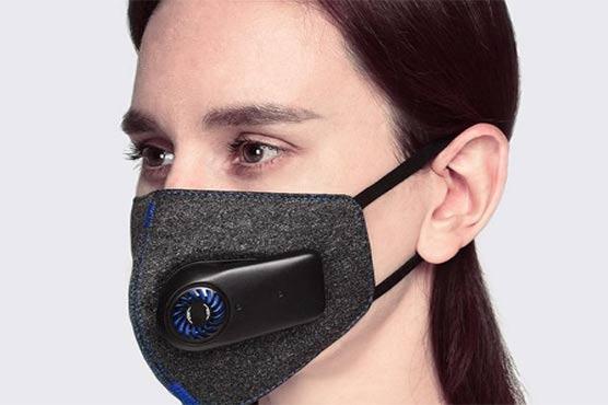 مائیک اور ایئرپیس سے لیس الیکٹرانک فیس ماسک تیار