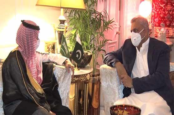 COAS Bajwa, Saudi FM discuss regional security situation: ISPR