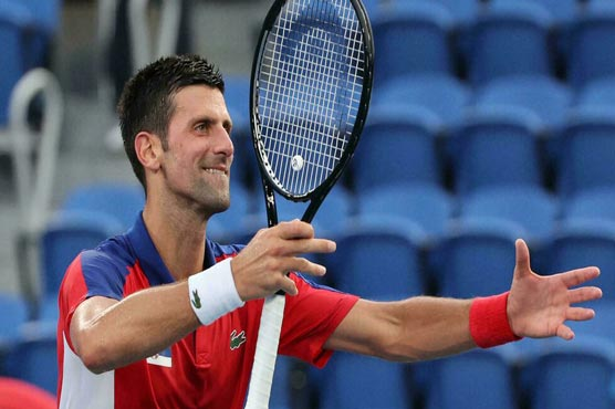 Djokovic rolls at Olympics as Medvedev suffers in extreme heat