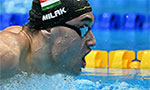 Hungary's Milak wins men's Olympic 200m butterfly gold