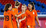 Free-scoring Netherlands set up Olympic quarter-final with USA