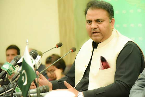 Complete lockdown will not be allowed in Sindh: Fawad Chaudhry