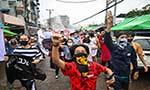 Myanmar coup: six months of turmoil
