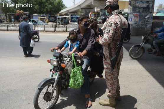 Sindh govt lifts ban on pillion riding, eases lockdown restrictions