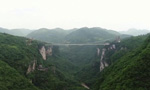 China tourists take a leap in world's highest bungy jump