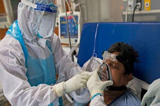 Exhaustion and fear for India's frontline doctors in Covid battle