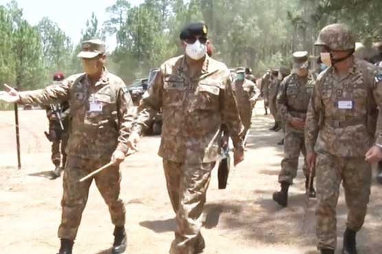 COAS expresses satisfaction over combat readiness of armed forces