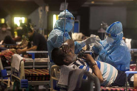 India records 134,154 new COVID-19 cases over past 24 hours