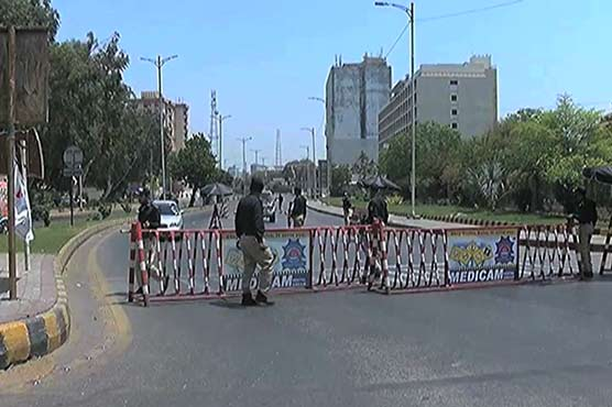 Micro smart lockdown imposed in four towns of Karachi's District Central