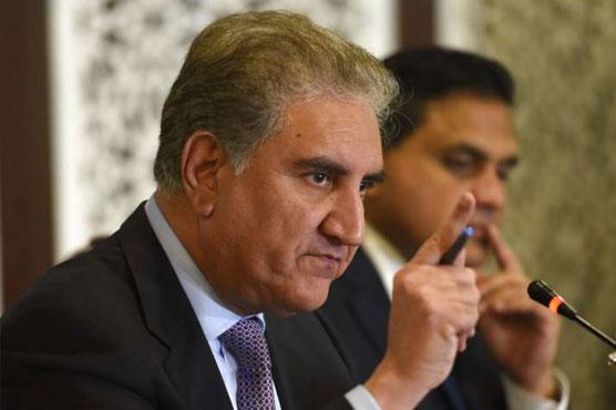 FM Qureshi expresses concern over killing of Pakistan origin family in Canada