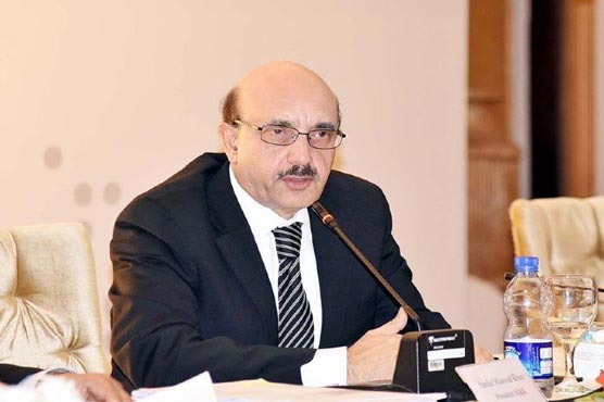 AJK President highlights negative, positive impacts of Covid-19 on environment