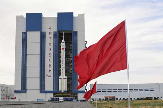 - 605596 63701487 - Rocket on pad, China ready to send 1st crew to space station – Technology