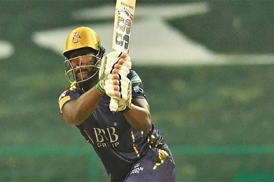 Russell hit on helmet, substituted by Naseem Shah mid-way through PSL game