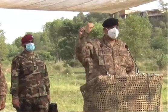 COAS General Qamar Bajwa visits Sialkot, Kotli