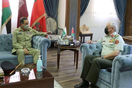 اردن کیساتھ باہمی فوجی تعلقات کو مزید وسعت دینے کے خواہشمند ہیں: جنرل ندیم رضا