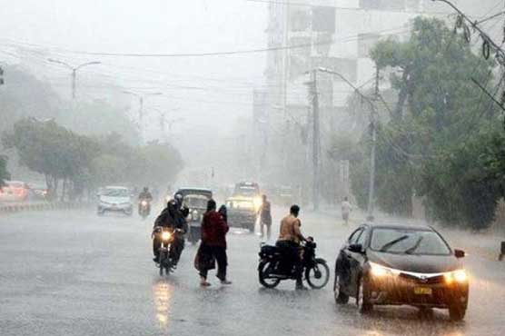 Rain-wind, thundershower expected in KP, Central Punjab