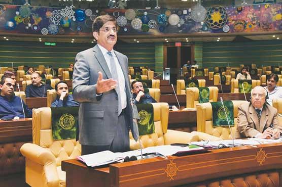 Sindh CM unveils Rs1.4 trillion budget for FY2021-22