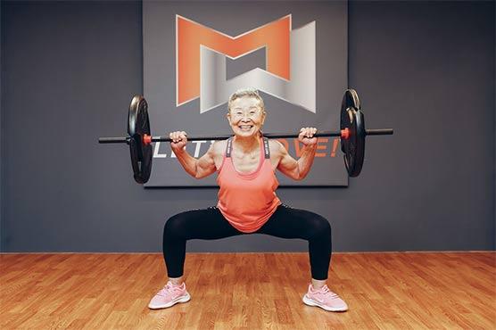 جاپان کی 90 سالہ خاتون دنیا کی معمر ترین فٹنس ٹرینر