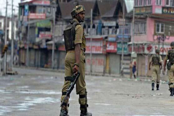 Indian troops martyr youth in Srinagar