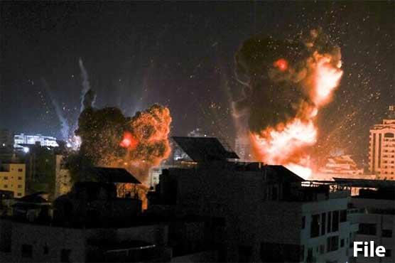 اسرائیل کا جنگ بندی کے باوجود غزہ پر فضائی حملہ