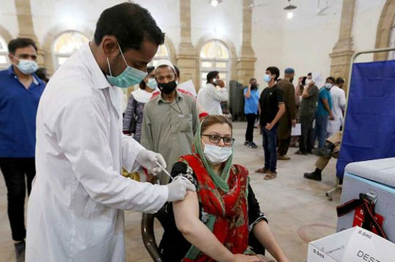 Over 11.7 million doses of coronavirus vaccine administered across Pakistan: NCOC