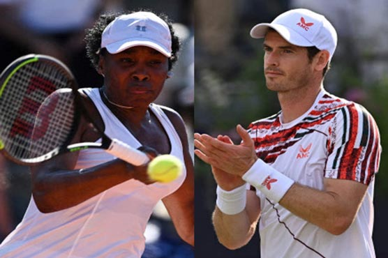 Murray and Venus Williams handed Wimbledon wildcards