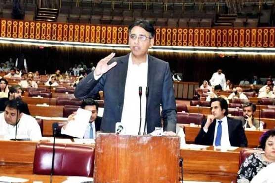 Asad Umar schools opposition on govt's economic achievements