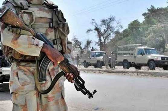 Soldier martyred in attack on troops in Turbat