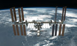 Astronauts install new rollout solar panels on International Space Station