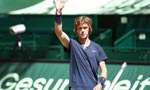 Last-seed standing Rublev reaches first grass final in Halle