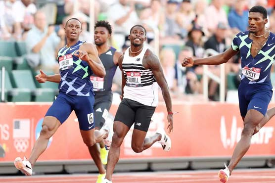 Tokyo-bound Bromell romps to 100m victory at US trials