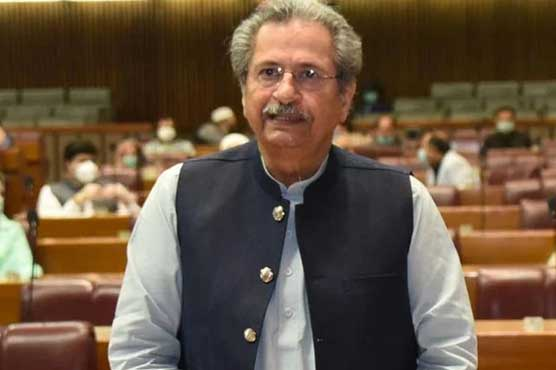 Examinations will be held at any cost: Shafqat Mehmood