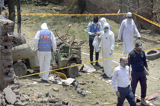 FIR registered over Johar Town blast