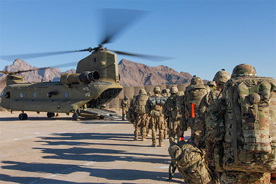 US pullout from Afghanistan marches ahead -- for now