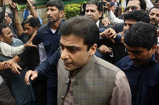Hamza Shahbaz appears before FIA in sugar scandal case