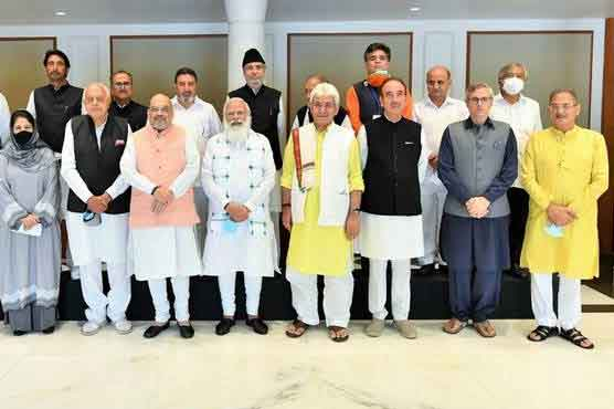 Occupied Kashmir leaders press Modi to restore valley's autonomy