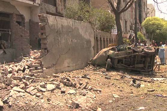 Johar Town blast: House of arrested suspect traced