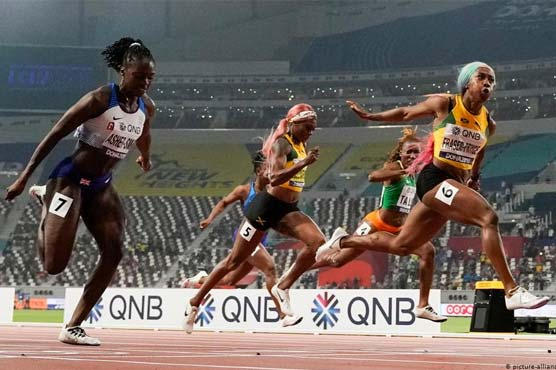 Fraser-Pryce wins 100m at Jamaica Olympic trials