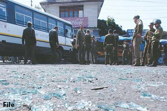 One civilian killed, four injured in Srinagar grenade, drone attacks
