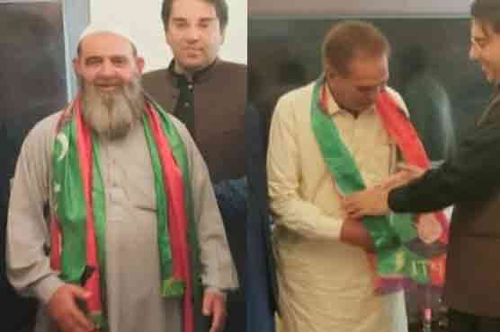 Two ex-AJK ministers join PTI ahead of elections