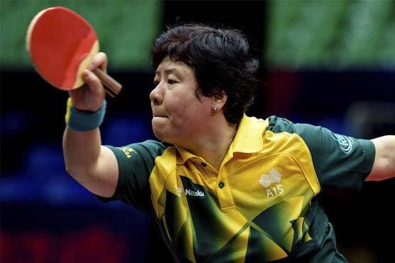 Australian table tennis veteran Jian, 48, to play in sixth Olympics