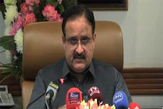 Anti-state agencies involved in Lahore's Johar Town blast: CM Buzdar